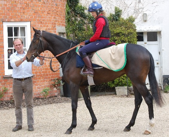 Harry Dunlop with Indian Blossom